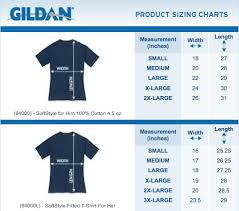 Gildan Size Chart Ladies Womens White T Shirt Multi Colour Logo