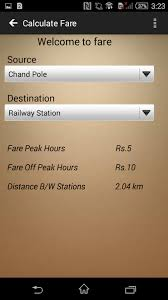 Auto Fare Chart In Jaipur Jaipur Metro App 1 1 Apk Download Android Travel Local Apps
