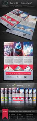 magazine ad business flyer v adobe photoshop studios and easy to customize magazine ad or business flyer that includes a full page print advertisement template in 7 different