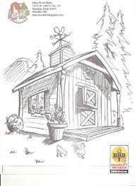 Small Picture barn and silo coloring pages Archives Best Coloring Page