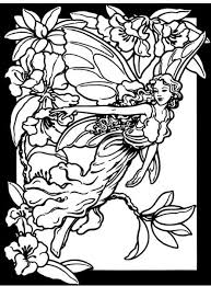 Small Picture 137 best Flower Fairies to color images on Pinterest Coloring