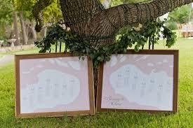 Custom Pink Mason Jar Seating Chart