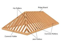 hip roof framing and building how to build a roof30