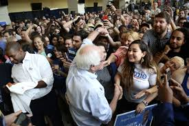 Bernie Sanders at UCF: 'The other side has money. Andrew has the people' |  Blogs