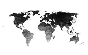 Black World Map Wallpapers High Resolution Countries That