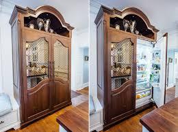 white glazed kitchen with walnut countertop elite designs international custom cabinetry millwork buffalo