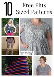 Plus Size Dress Patterns Unique 48 Free Plus Size Patterns Including Free Plus Size Dress Patterns
