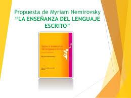 Ppt propuesta de myriam nemirovsky