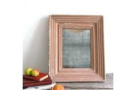 mercury mirror glass vintage french photo 1 panels faux antique