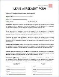 Blank Rental Application Printable Sample Rental Lease Agreement Templates Free Form Real