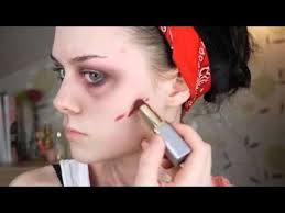 les 10 meilleures images du tableau zombie sur costumes moulage et maquillage easy zombie makeup tutorial