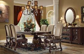 traditional dining room tables. Monaco Collection 7 Piece Traditional Dining Set Room Tables T