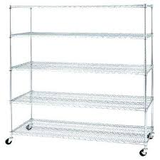 heavy duty garage shelving on wheels metal shelving on wheels great garage shelves racks storage the home depot interior design 5