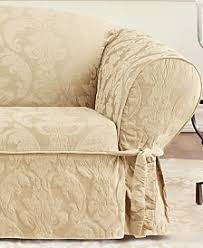 chair slipcovers. sure fit matelasse damask 1-piece loveseat slipcover chair slipcovers n