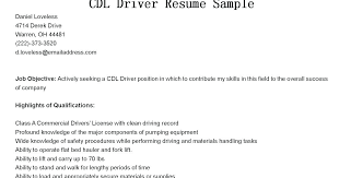 Objective For Truck Driver Resume truck driver resume objective statement foodcityme 67