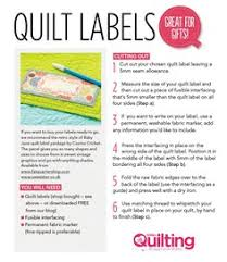DIY Professional Quilt Labels | Quilt labels, Freezer paper and ... & Download your FREE quilt labels printable here as the finishing touch for  your quilts! We Adamdwight.com