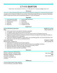 media professional resume