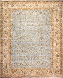 rugsville ziegler traditional gray wool rug 10427