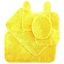 yellow bath rug mat room s light set sets lemon rugs golden mesmerizing on bright designs