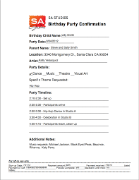 Party Agenda Sample Program For Party Rome Fontanacountryinn Com