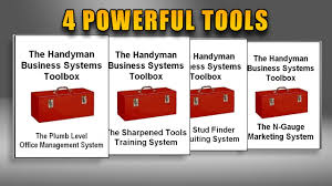 handyman business the handyman business systems toolbox youtube