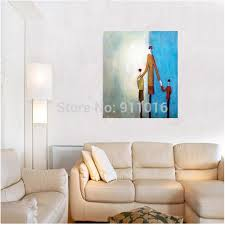 handmade modern family oil painting abstract painting love landscape pictures on canvas wall art for room