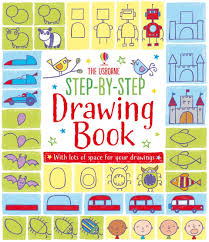 step usborne step by step drawing book game
