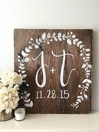 wedding decor monogram wedding sign elished date best of monogrammed wedding gifts monogrammed wedding gifts