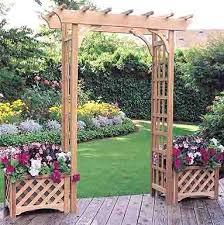 Small Picture Garden arbor designs