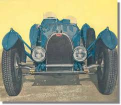Indeed, they were the most successful race cars of the decade. 1960 Bugatti Owners Club Christmas Card Bugatti Type 59 Chassis 59124