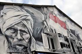 if you want to get a sense of the mural arts scene in singapore head first to kampong glam in the arab street area where you will find a mix of heritage  on wall mural artist singapore with the great singapore paint off the art of the mural asiaphotostock