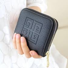 AMOG Lady mini Wallet Korean version short women Small Change bag zipper  bag hand Bag coin