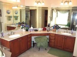 bathroom corner vanities attractive restroom master vanity two sink inside