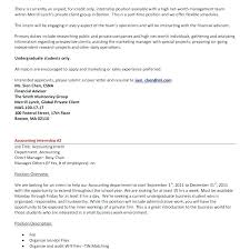 Cover Letter For Chartered Accountant Accountant Cover Letters Entry Level Accounting Cover Letter