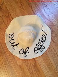 floppy office. 2016 new custom sequin out of office floppy hat by wanderluststreasures jgxxmre2