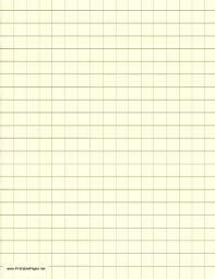 Light Yellow Graph Paper With Dark Gold Half Inch Lines