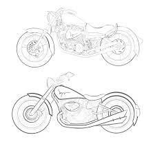 Motor bike drawing at getdrawings free for personal use motor