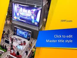 Free Video Games Powerpoint Template Free Powerpoint Templates