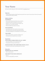 8 Resumes Waitress Sap Appeal