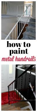 Best Paint For Stairs How To Paint Metal Handrails