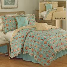 s thing coastal seashell quilt set by waverly