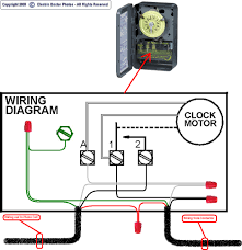 tork time clock wiring diagrams diagram Intermatic Photocell Wiring Diagram 240 Volt