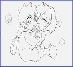 Chibi Girl Coloring Pages Happy Living