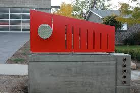 metal mailbox flag. Pretty Modern Mailbox Metal Flag R