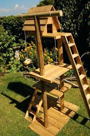 outdoor cat furniture tree diy house