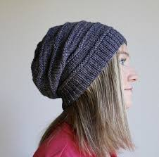 Slouchy Hat Knitting Pattern