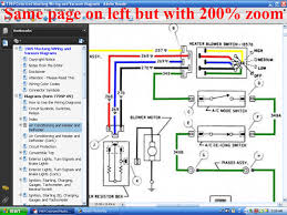 fordmanuals com 1969 colorized mustang wiring diagrams (ebook) 1959 Ford F100 Ignition Wiring Diagram screenshot of colorized wiring page with 200% zoom Ford Ignition System Wiring Diagram
