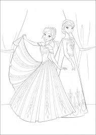 Prinses Elsa Kleurplaat