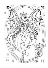 Winx Club Roxy Coloring Pages Ideas For Kids How Fun Coloring