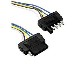 tow ready 5 flat plug loop car and trailer end wiring harness 118215 tow ready 118215